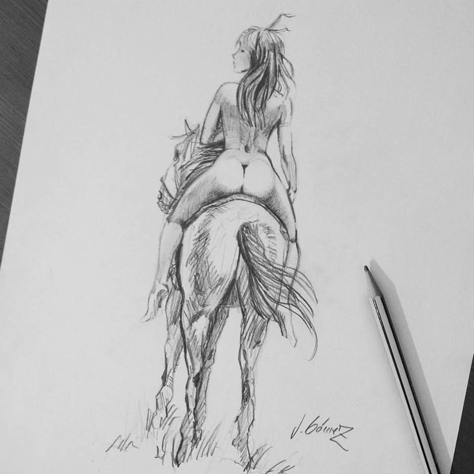 naked por