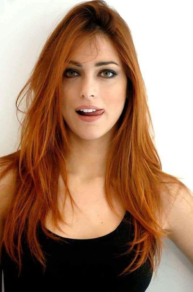 redhead beauty porn
