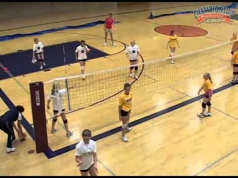 Fun Small Sided Games To Make Your Practice More Exciting Volleyball Practice Volleyball Drills Volleyball