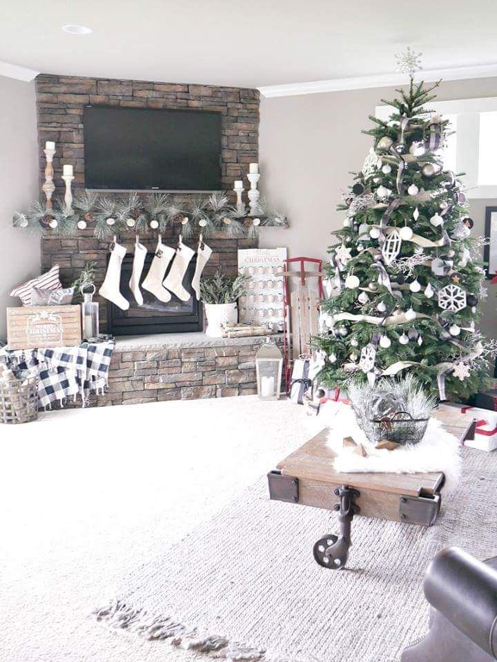 80 Christmas Home Decorating Ideas to Bag Complements Entire Holiday