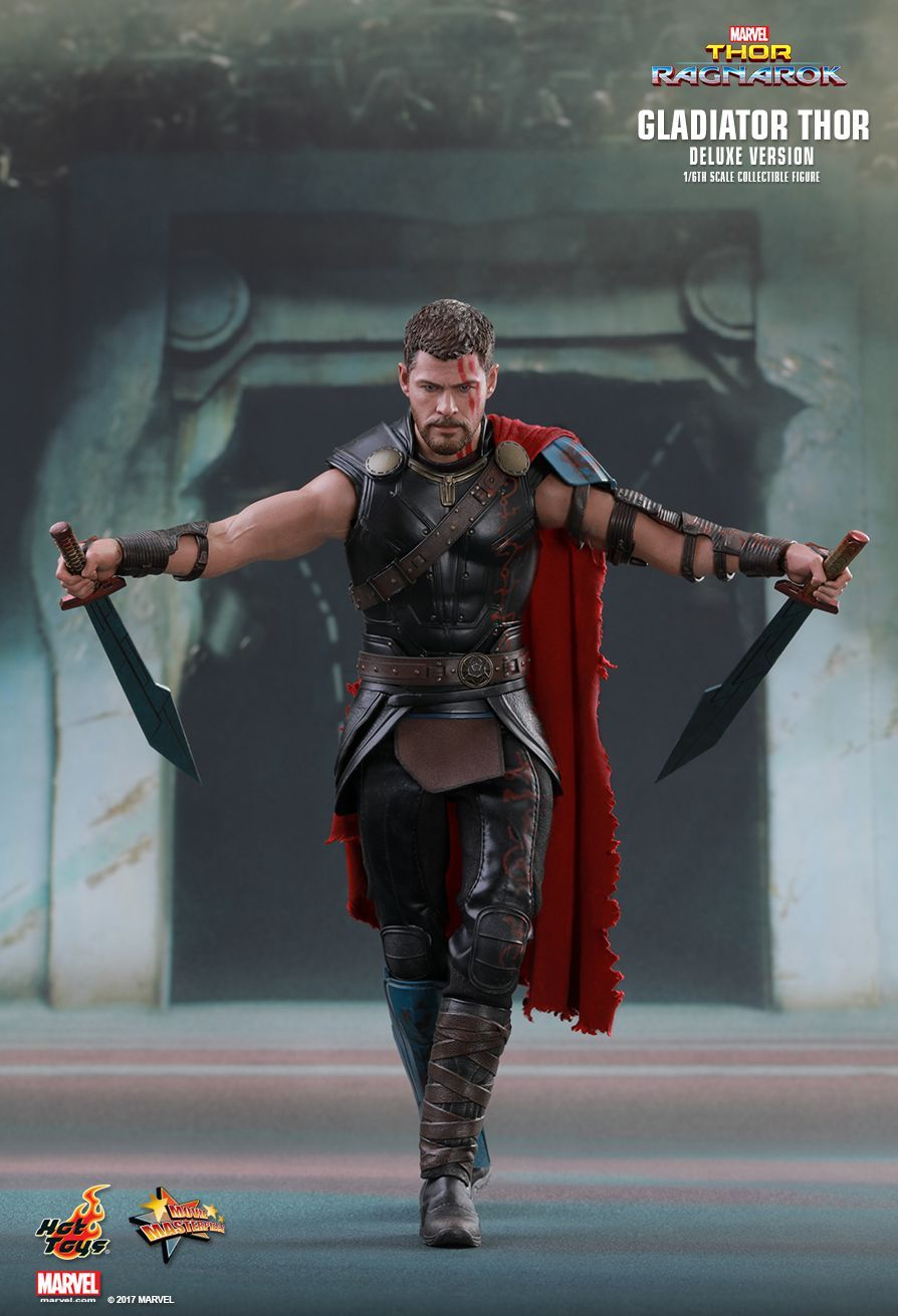 Hot Toys : Thor: Ragnarok - Gladiator Thor (Deluxe Version ...