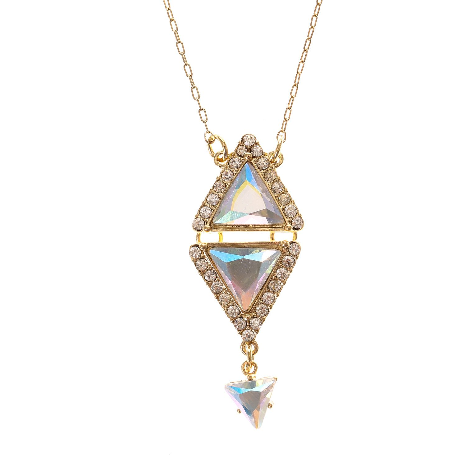 Katy perry gold prism pendant necklace katy perry gold prism pendant necklace aloadofball Image collections