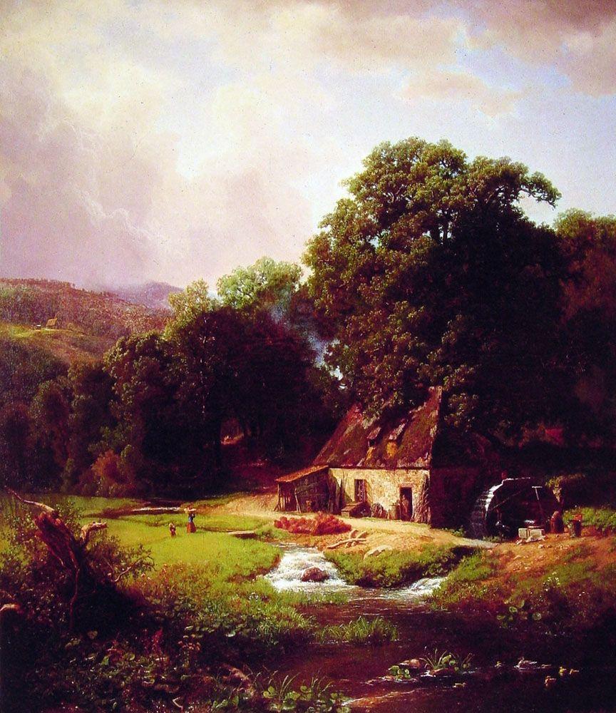 landscape oil painting landscape oil painting world