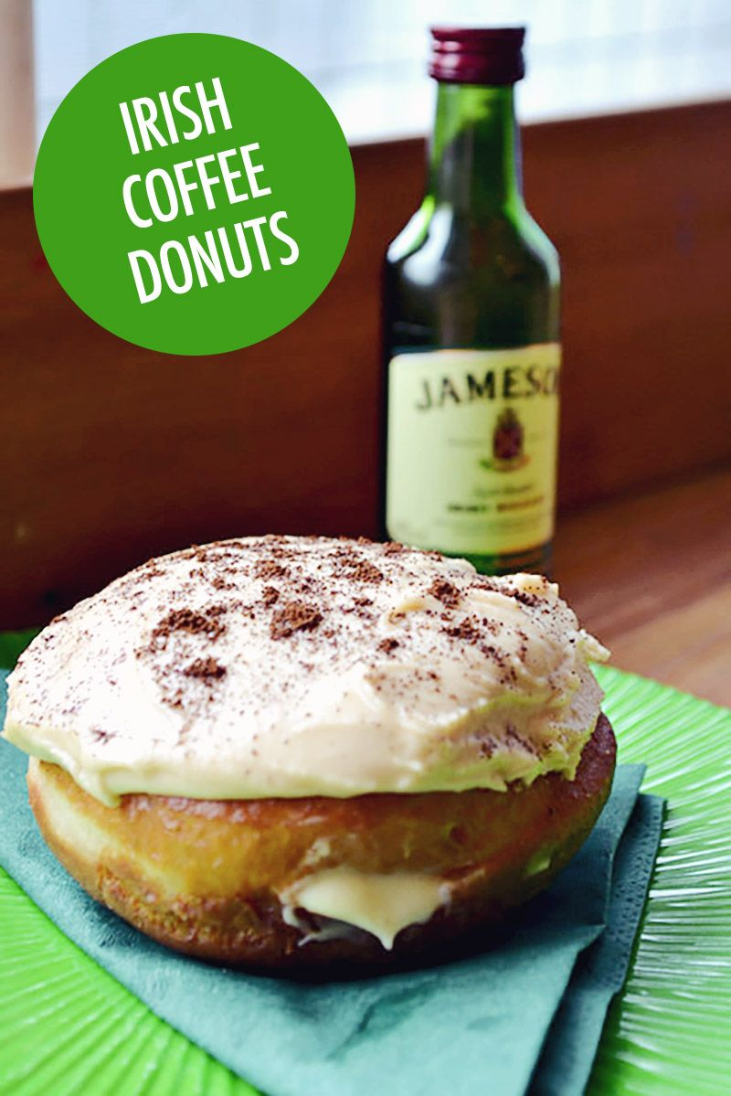 The Siùcra Shack's Irish Coffee Donuts Recipe Irish