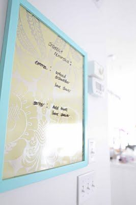 Diy Dry Erase Board Diy Message Board Diy Dry Erase Board Diy