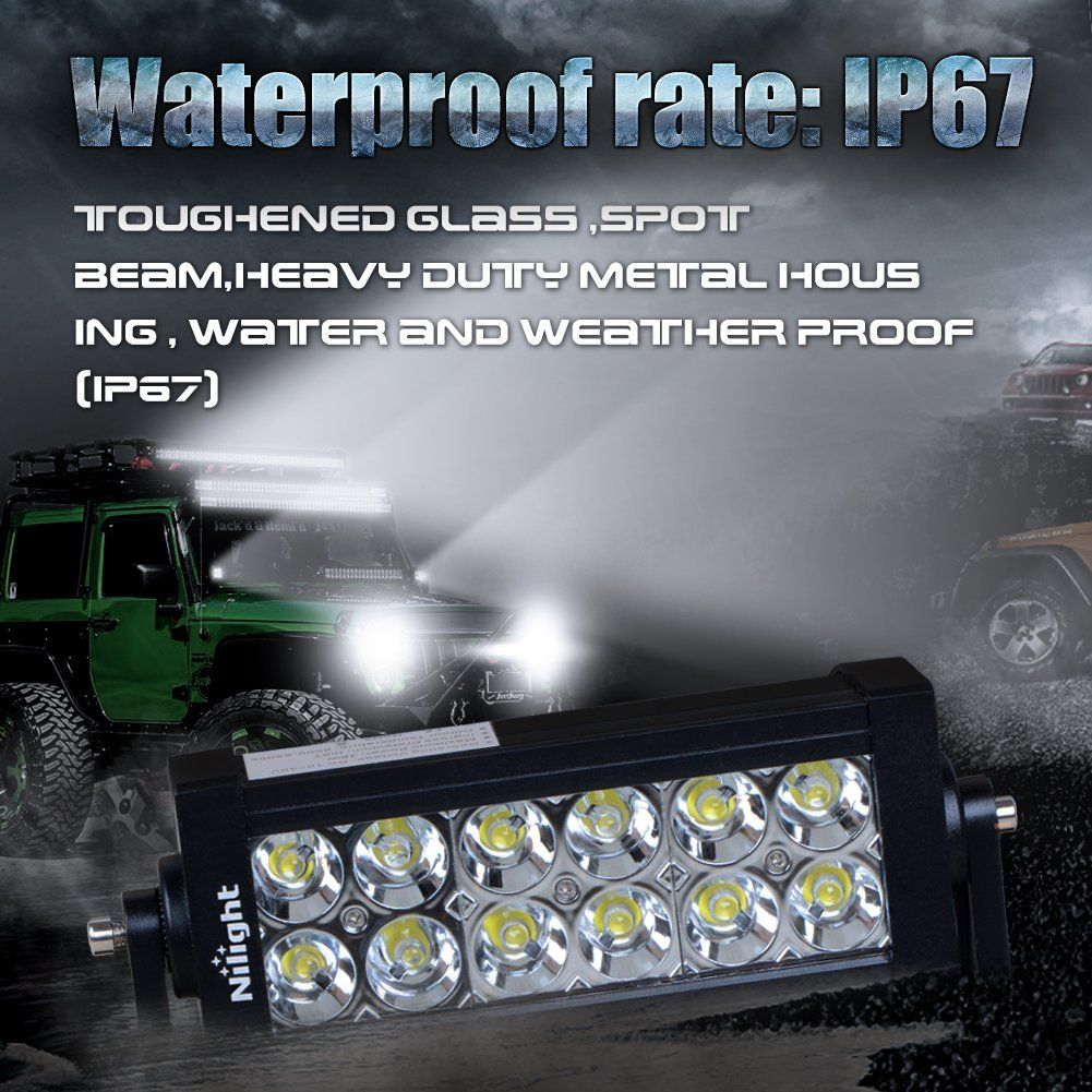 Robot Check Off Road Led Lights Suv Trucks Led Work Light