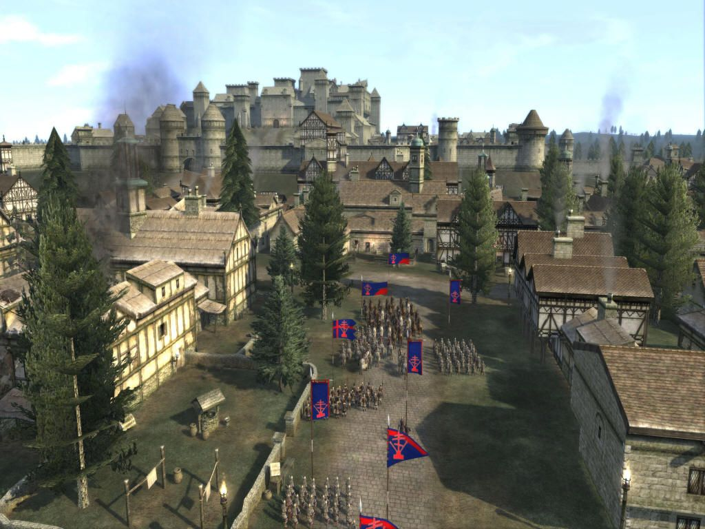 Good Castle And City Inspiration 1 Total War Medieval