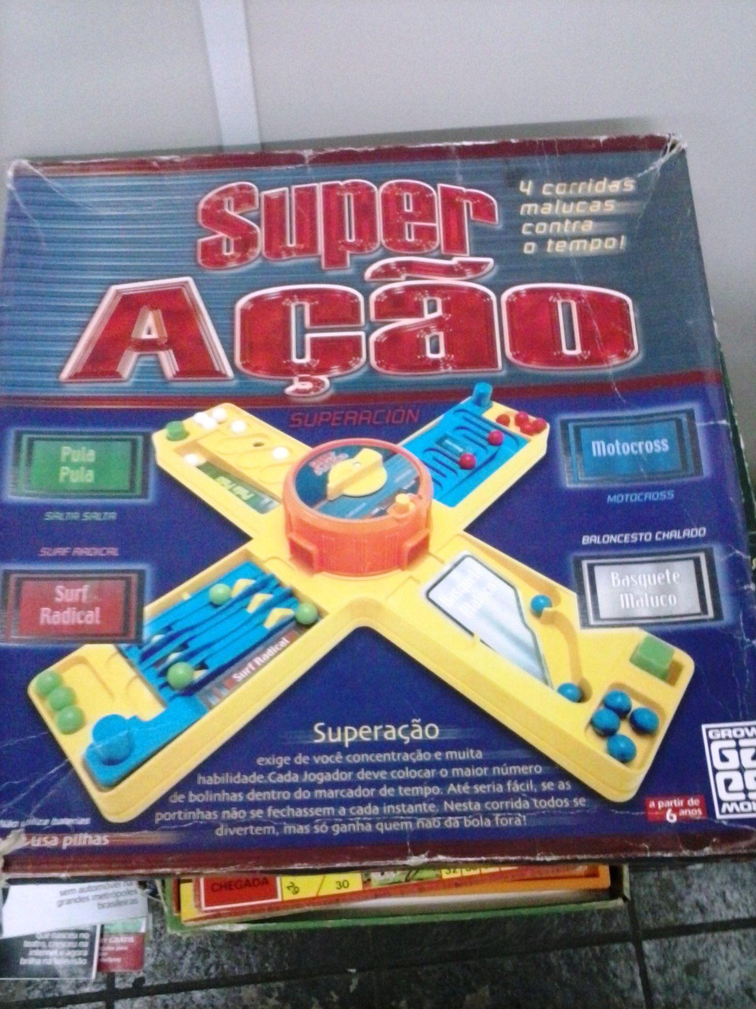 Jogo Super Acao Jogos Basquete