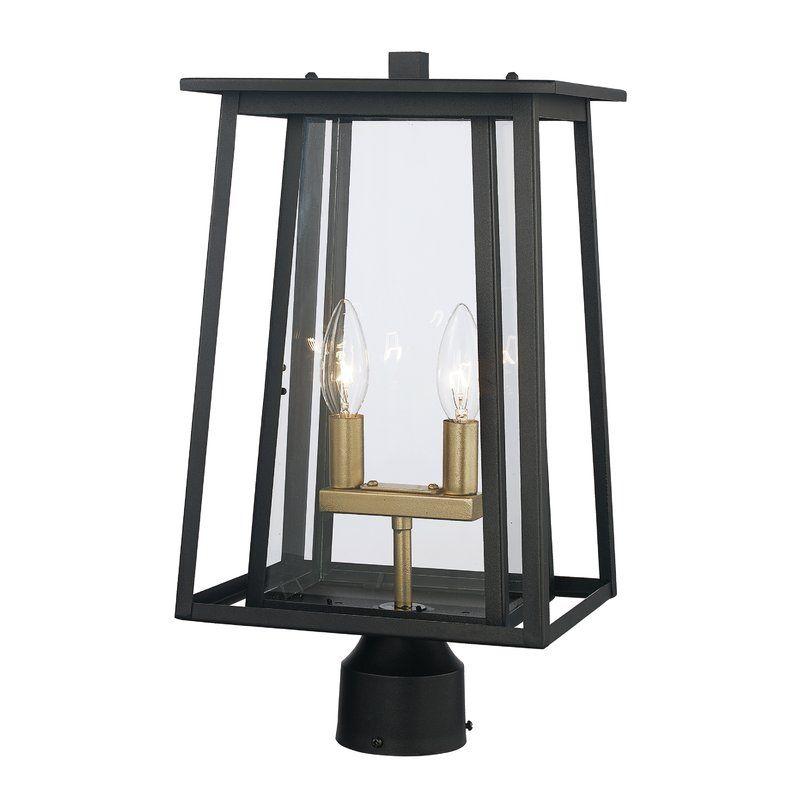 Noa 2 Light Lantern Head Lamp Post Lights Outdoor Lamp Post Lights Lantern Head