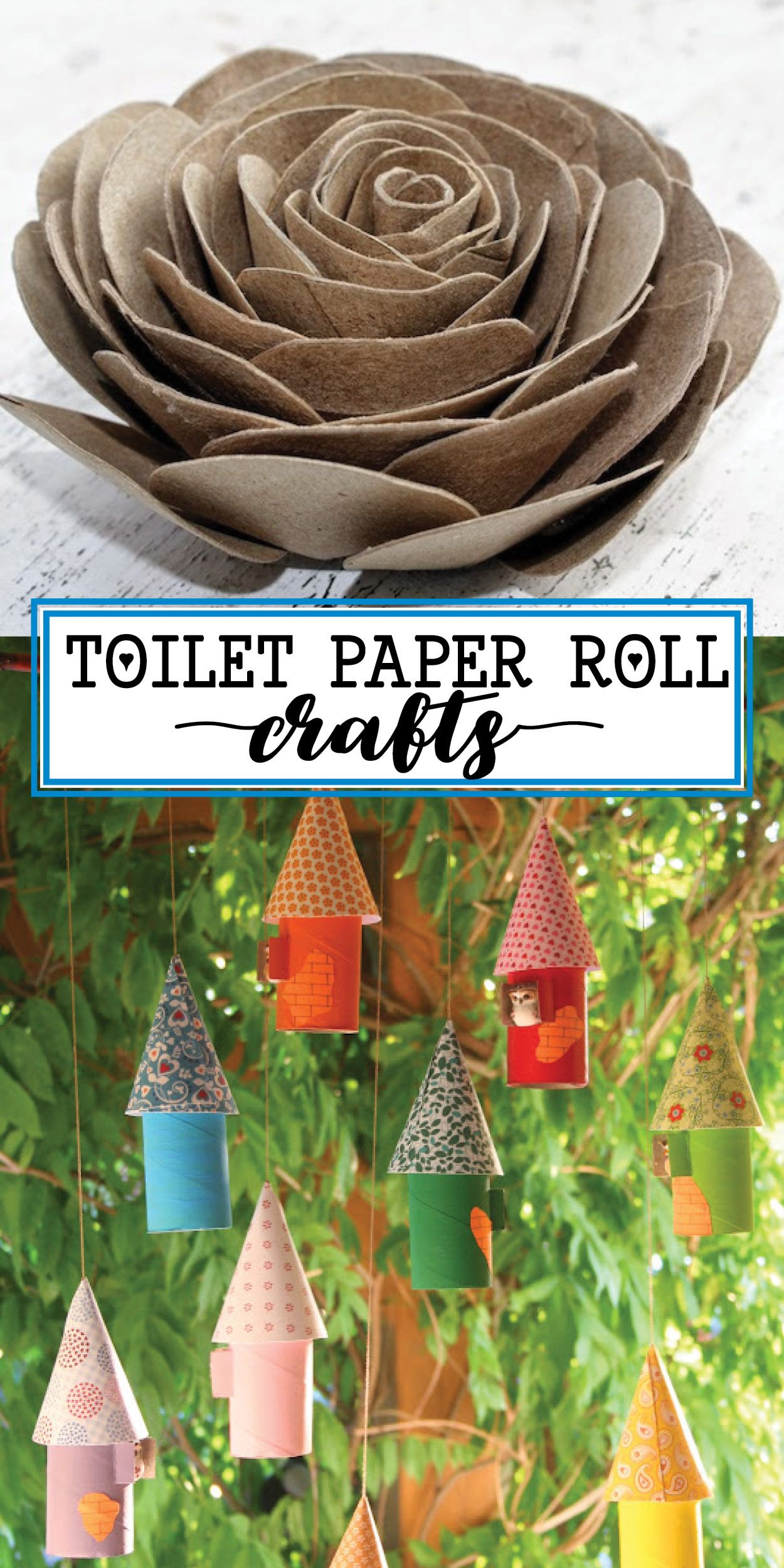 Here's What You Can Do With All of Those Toilet Paper Rolls