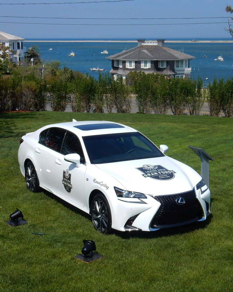 In addition to eight Lexus support vehicles
