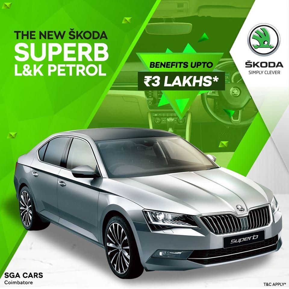 New Skoda Superb L K Petrol In 2020 Skoda Superb Skoda Superb