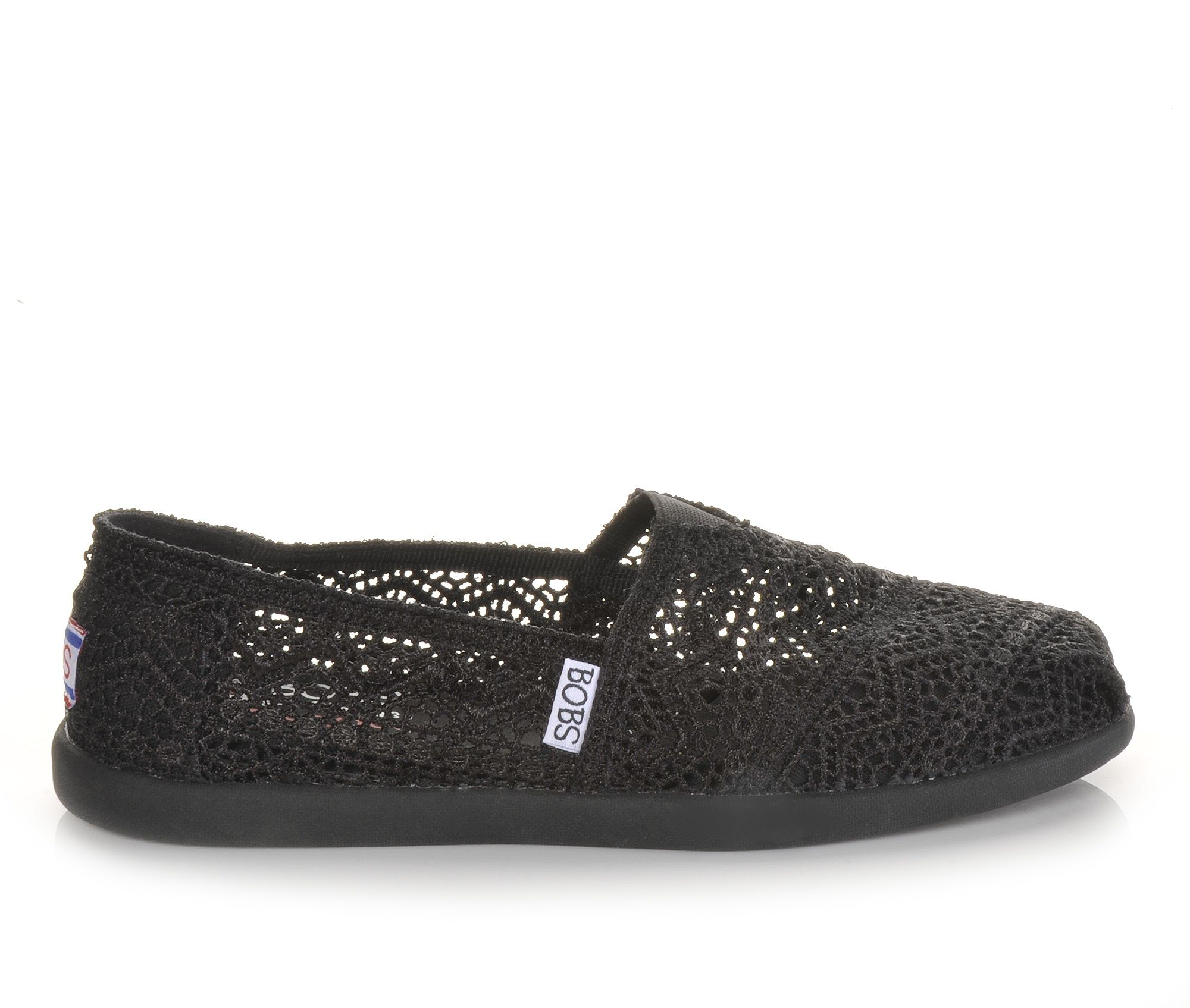d6c27c8c132 We can t wait to pair these Skechers Bobs Slip-Ons with our favorite skinny  jeans and a flowy top!  Bobs  Skechers  crochet  lace  shoes  cool  cute   style
