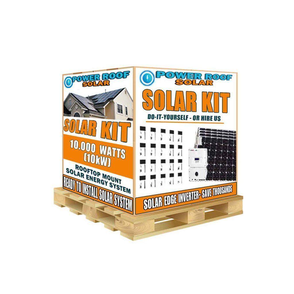 10200 Watt 10kw Solar Panels Kit With Solaredge Inverter Solar Panels Solar Energy Panels Solar Panel Kits
