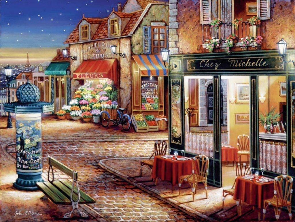 Paris S Secret Corner 1500pc Jigsaw Puzzle By Ravensburger New