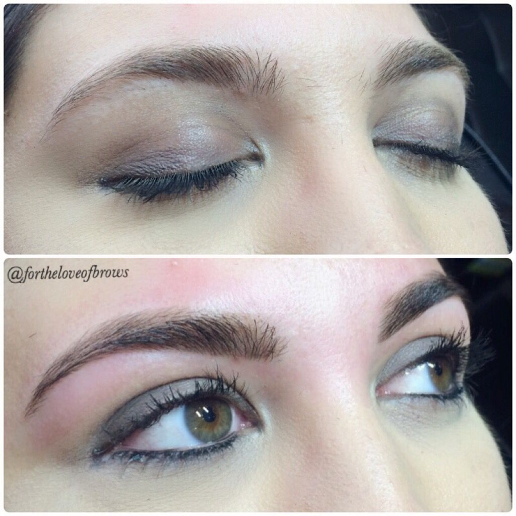 Eyebrow Art By Marisa Rios At Leidan Mitchell Salon And Spa In