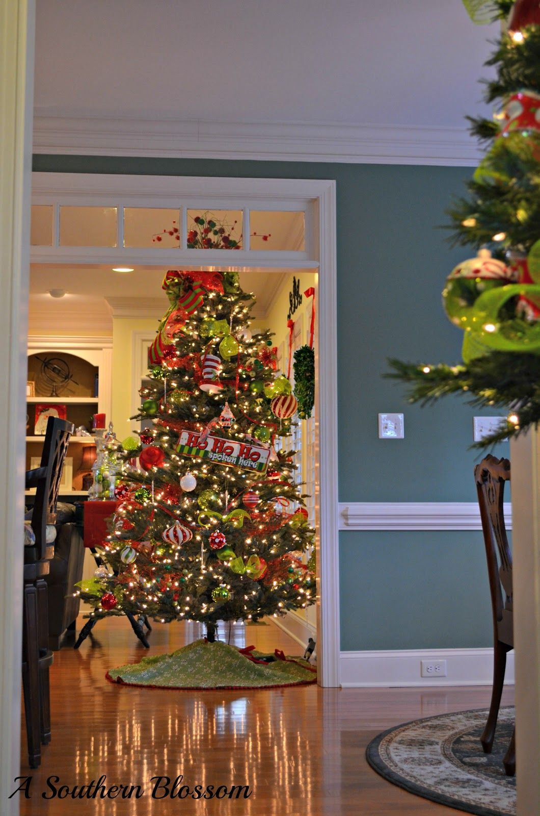 A Southern Blossom: A Christmas Welcome