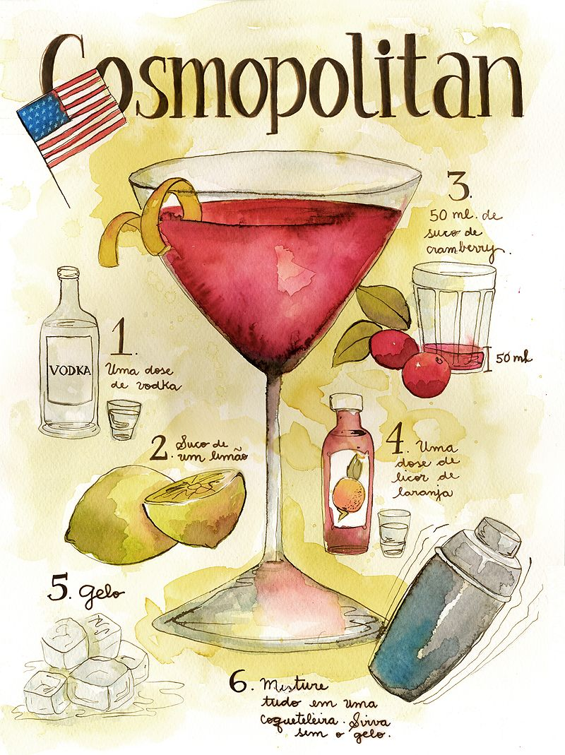Perfect Cosmopolitan Cocktail Recipe Drinks Alcohol Drink Recipes Cocktails