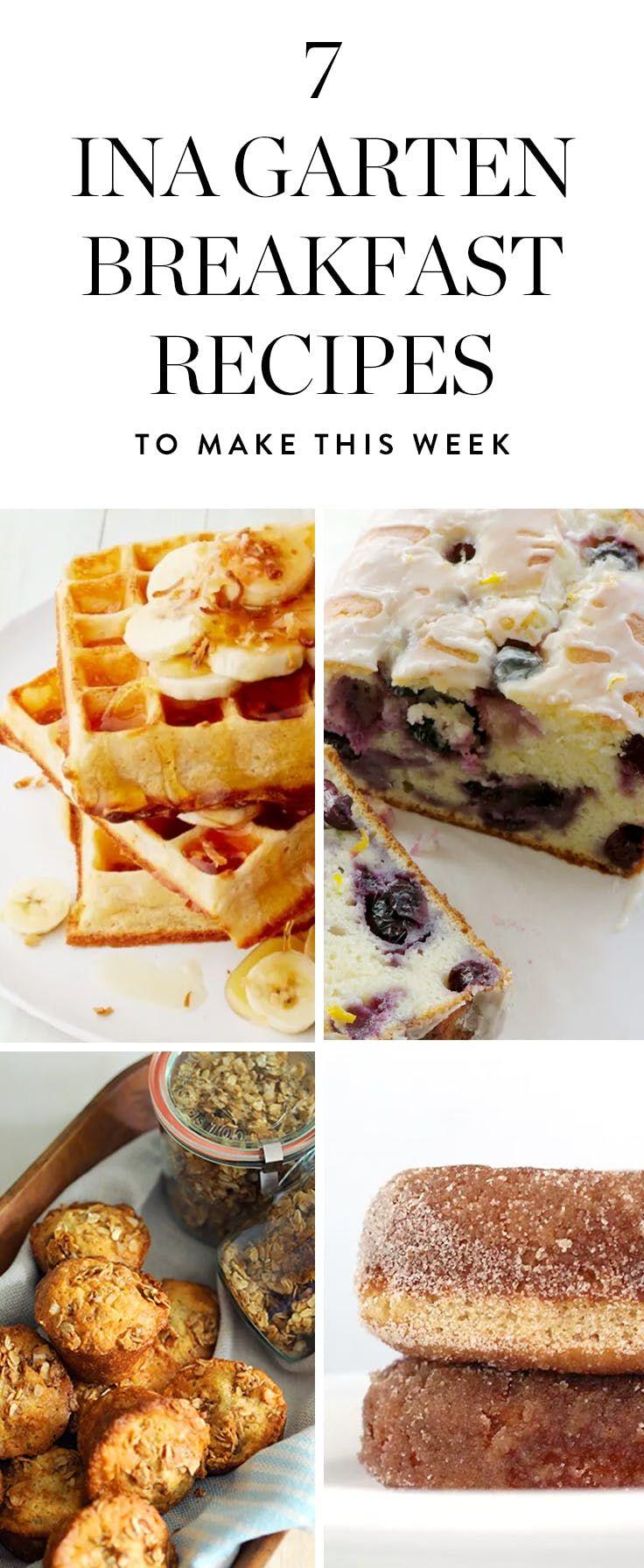 7 Ina Garten Breakfast Recipes We Re Making This Week Via Purewow