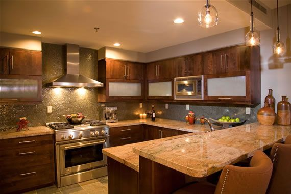 Warm Paint Colors For Kitchens Pictures Ideas From Hgtv: Warm Kitchen W/earth Tones....love The Simple Pendant