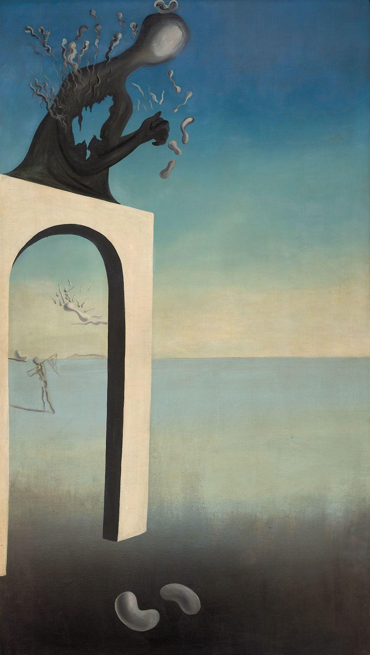 Visions Of Eternity Salvador Dali 1936 37 Tableaux Paysage Peintures Dali Musee Dali