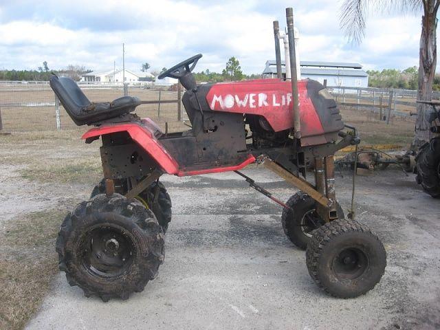 Garden Tractor Custom Truck : Custom lift kit awesome pics pinterest kits