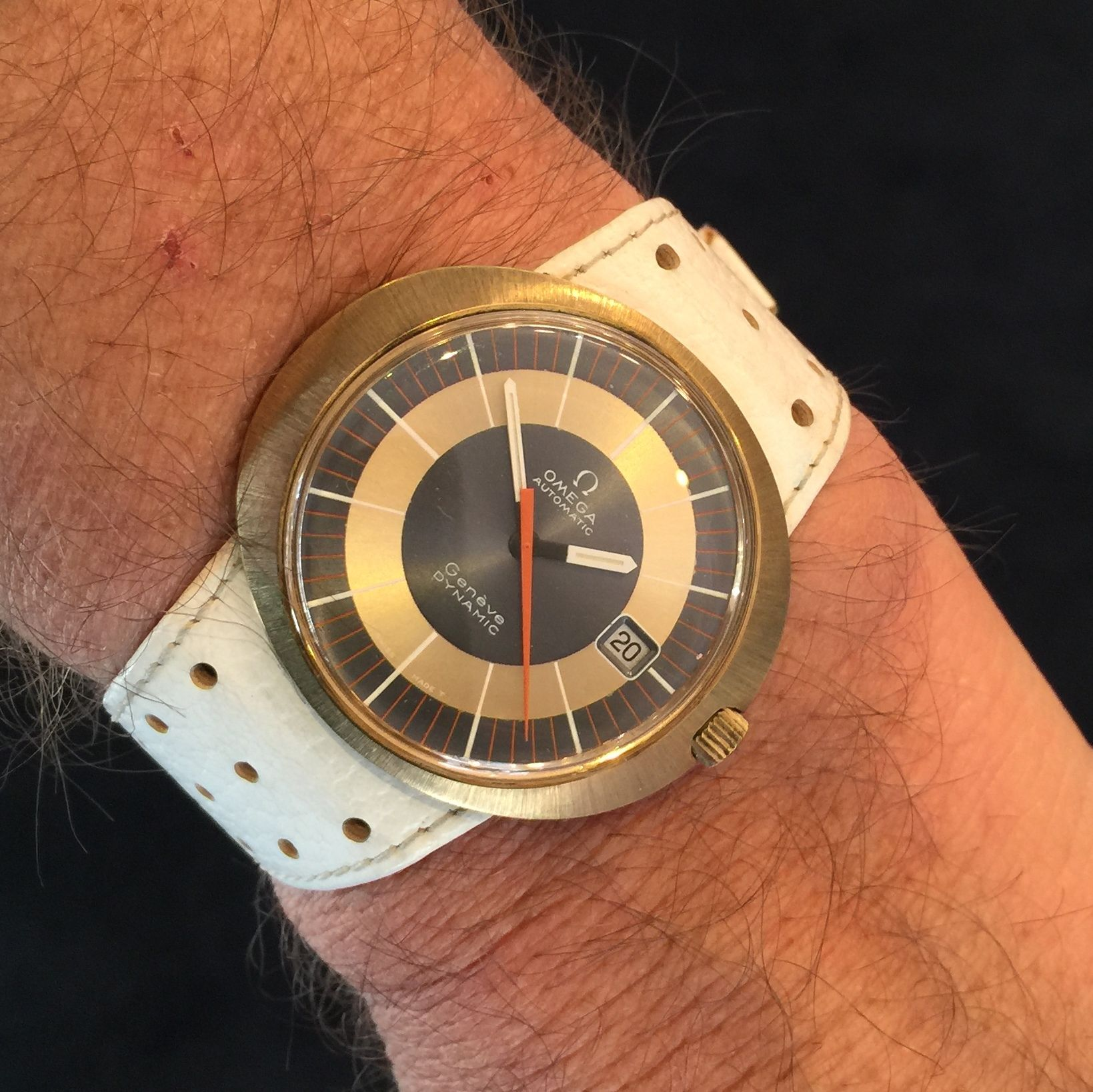 NEW OLD STOCK omega dynamic with original strap and buckle
