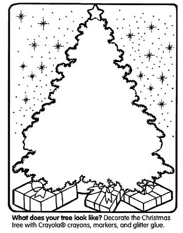 free printable christmas coloring pages and activity sheets such as decorating this cool christmas tree