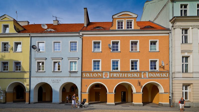 Marketplace In Gliwice Poland Europe And Far Far Away