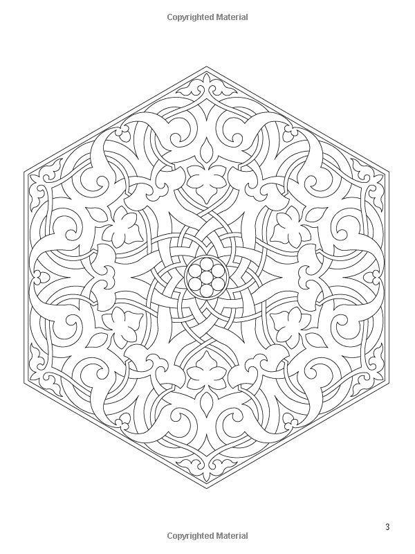 Susanne Nilsen Adli Kullanicinin Colouring Pages Panosundaki Pin Arap Deseni Boyama Kitaplari Boyama Sayfalari Mandala