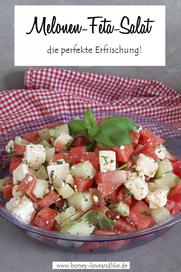 Der einfachste und beste Melonen-Feta-Salat der Welt #melonrecipes