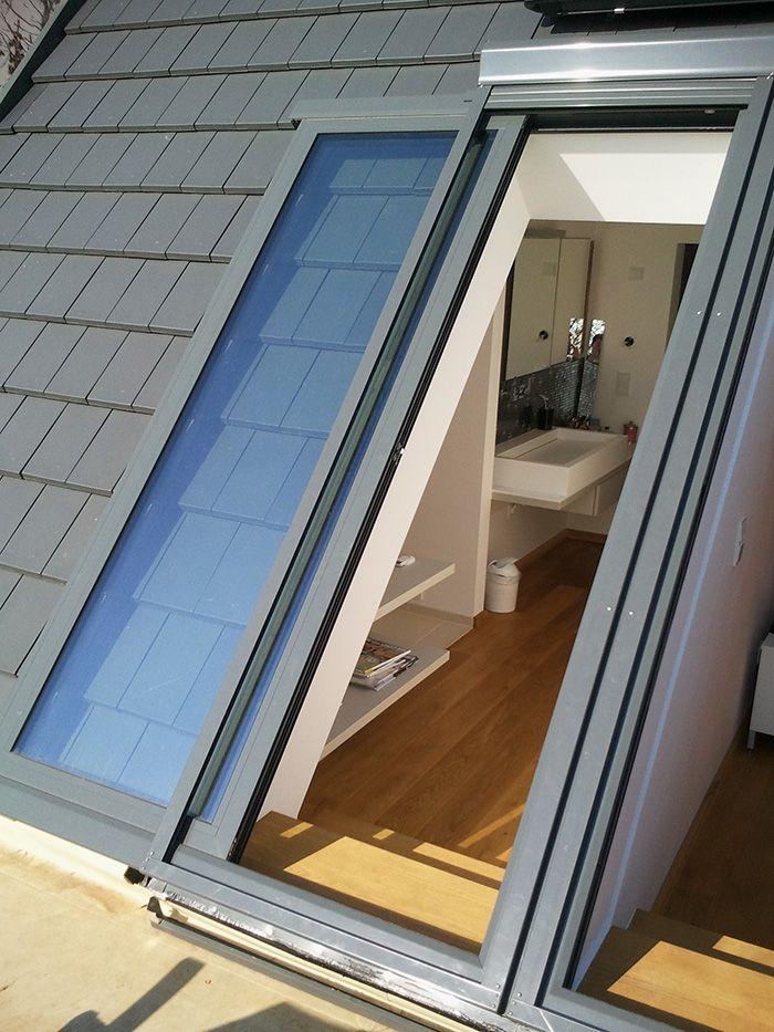 Lideko Fenster Balkonausstieg Dachschrage Fenster Dachbalkon Bauernhaus Fenster