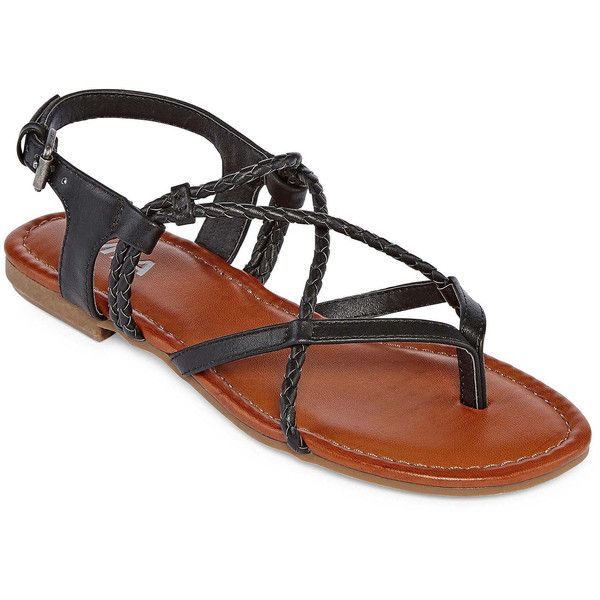 ef1407291 Mia Girl Daphne Womens Flat Sandals ( 30) ❤ liked on Polyvore featuring  shoes