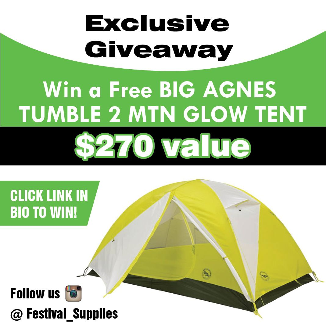 free tent giveaway