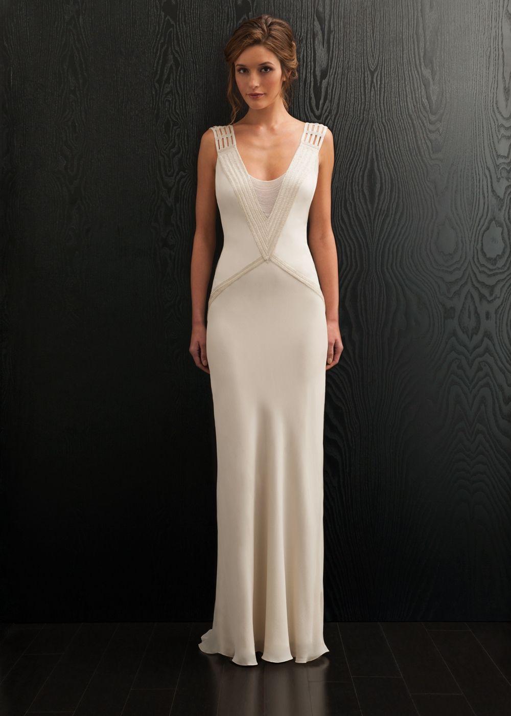 Amaris Wedding Dress, Amanda Wakeley Designer Collection | Beautiful ...