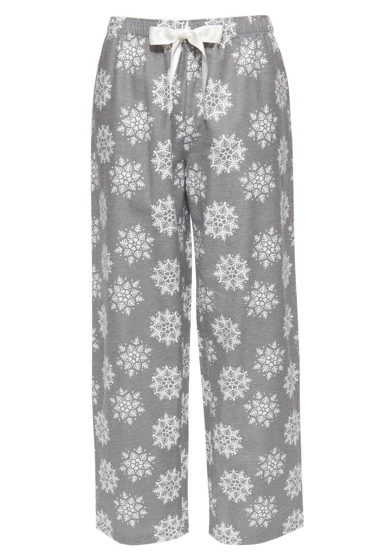 Grey snowflake pyjamas #loungewear