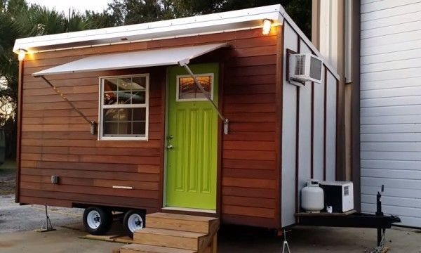 tiny house awning google search awning house tiny houses for rh pinterest com Micro Homes Micro Homes