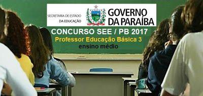 Apostila Concurso Secretaria De Educacao Pb Professor Magisterio