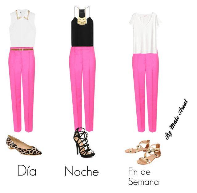 19 Ideas De Pantalon Rosa Pantalones Rosa Ropa Moda