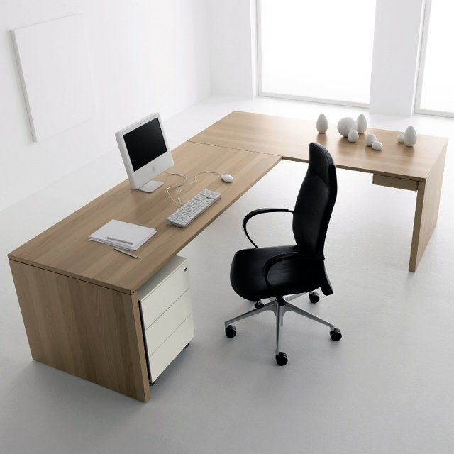 An 39 off the peg 39 l shaped desk works great in most corners for S shaped office desk
