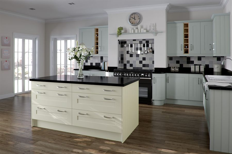 White Kitchen Units Black Worktop atlantis kitchens | inspiration | painted light blue & ivory