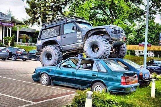no #parking space no #problem #habal #هبل #habaldotcom   HabaL