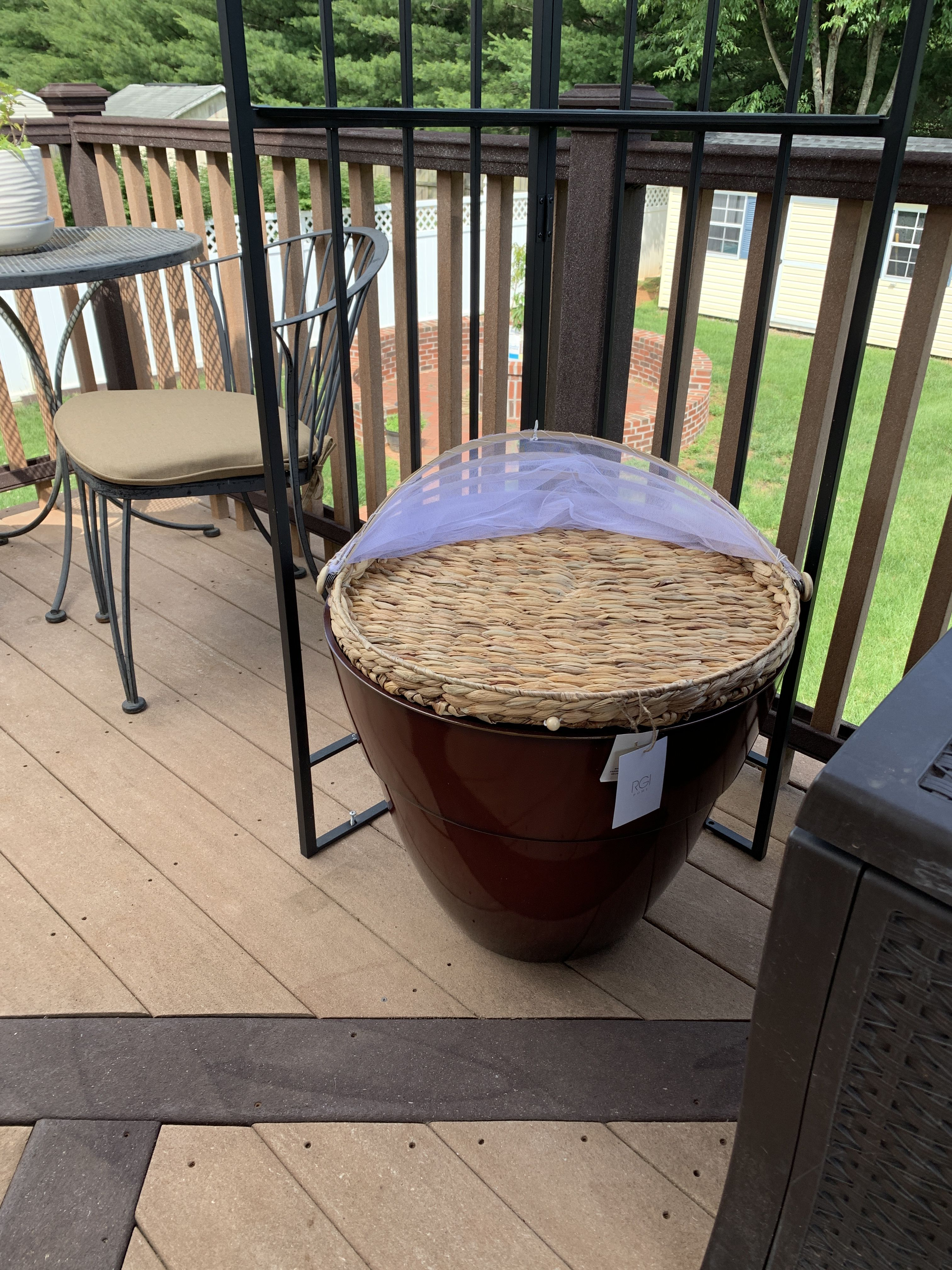 Planter From Costco Tray From Homegoods Outdoor Decor 400 x 300