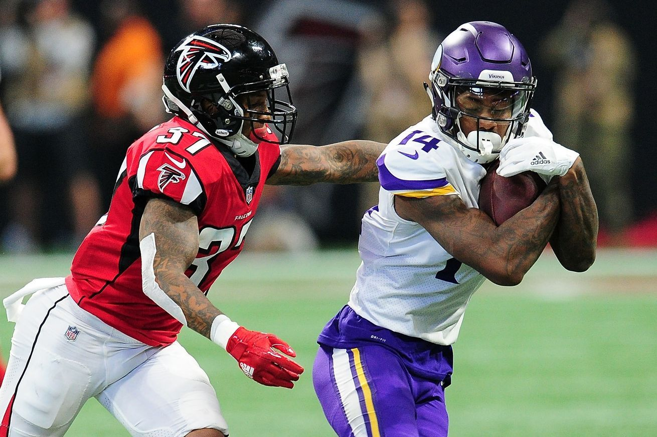 Falcons 9 Vikings 14 Final Score Atlanta Gets Shut Down And Drops Their Fifth Game Falcons Vikings Atlanta