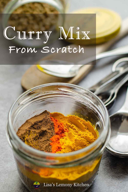 Homemade Curry Powder in 2020 Homemade curry powder