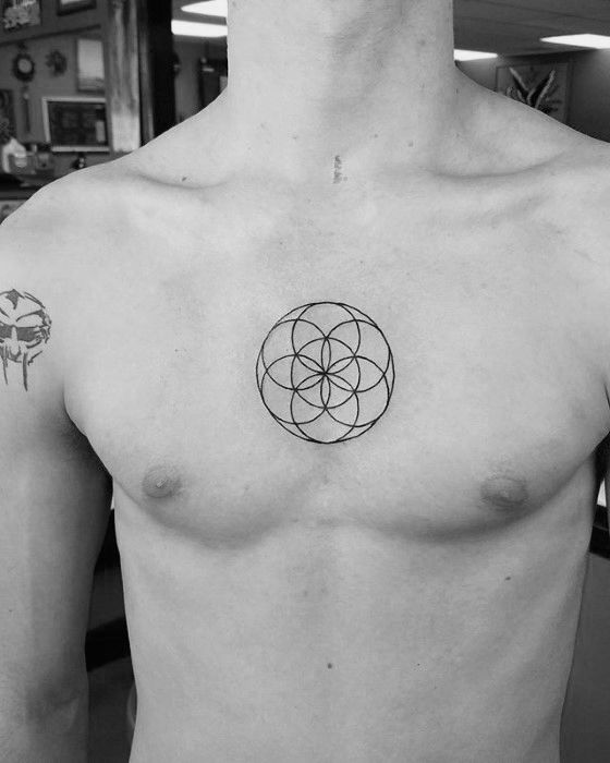 50 Small Geometric Tattoos For Men Manly Shape Ink Ideas Tattoos