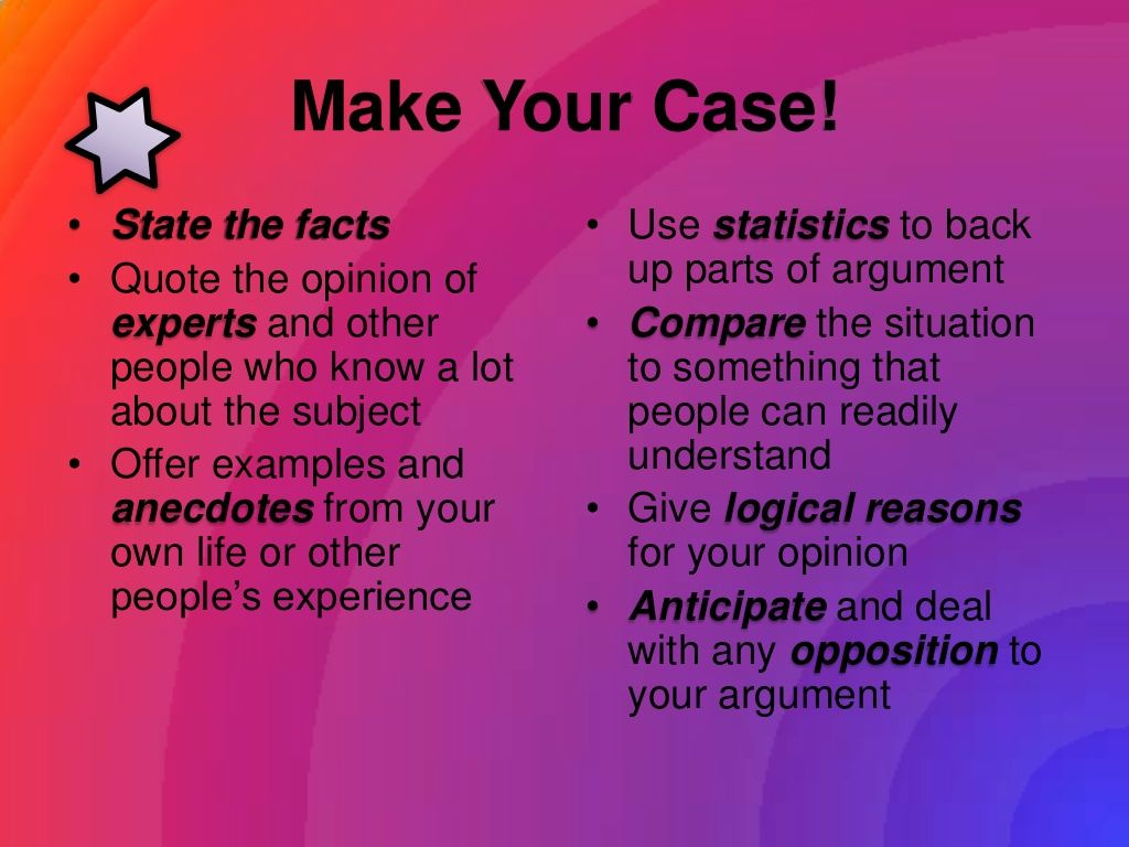 Writing An Argumentative Essay  Science Writing Prompts