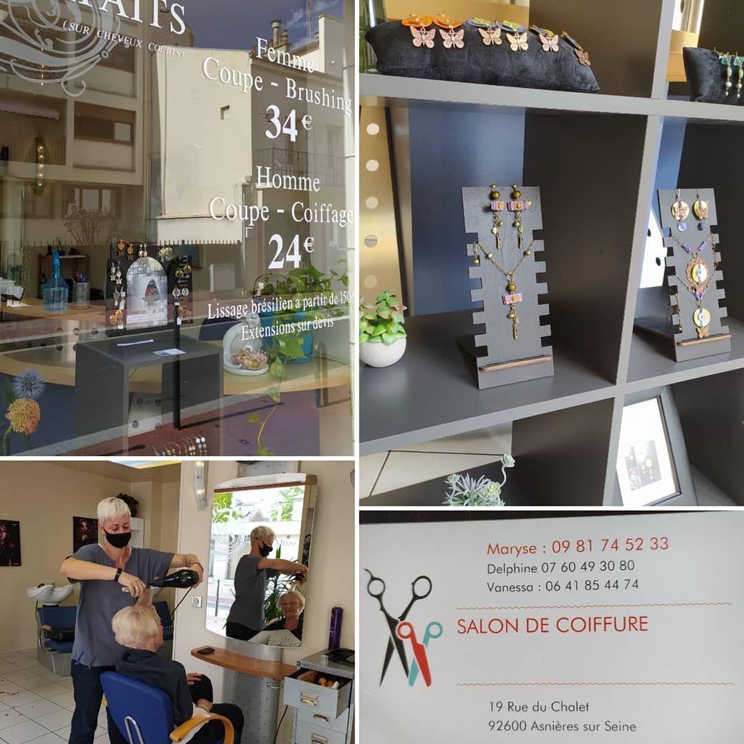 Herbes Folles Creations Exposition Permanente Au Salon De Coiffure De Marise Et Delphine Gare De Bois Colombes Bijoux Jew Vanity Mirror Home Decor Vanity