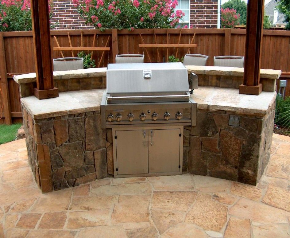 Fantastic Outdoor Kitchen Designs Phoenix Az With Best Natural Stone For  Kitchen Countertops And Stainless Steel