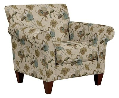 Aria Stationary Occasional Chair By La Z Boy Fabric Moss